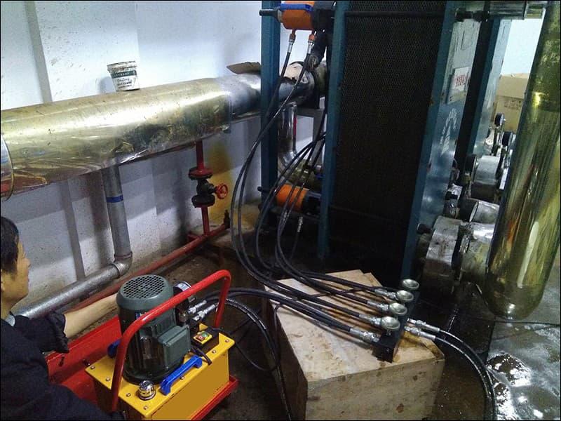 板式换热器清洗